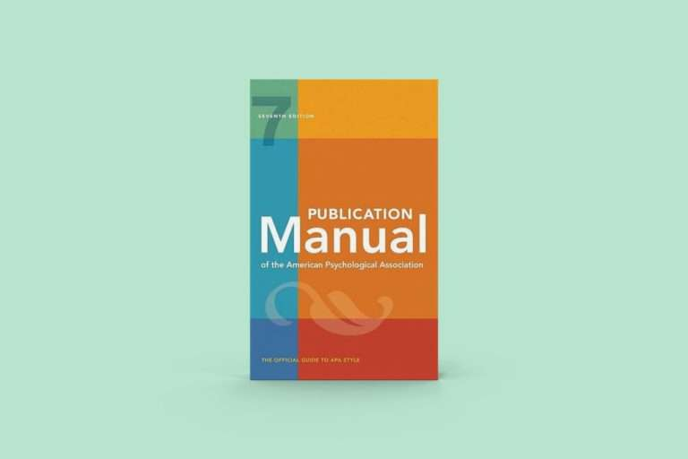 APA style, manuale, psysimple