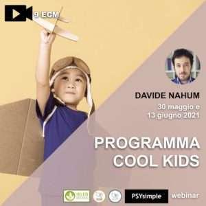 cool kids, nahum, programma cool kids, disturbi d'ansia, psicoterapia, infanzia, adolescenza