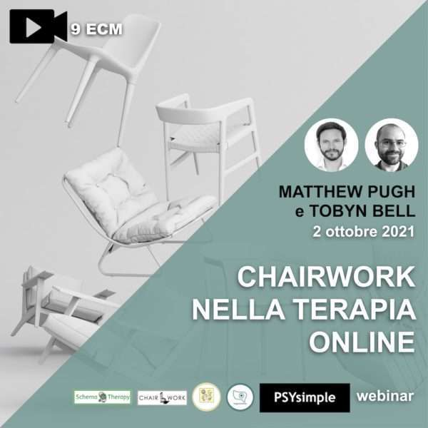 chairwork, pugh, bell, lavoro con le sedie, psysimple